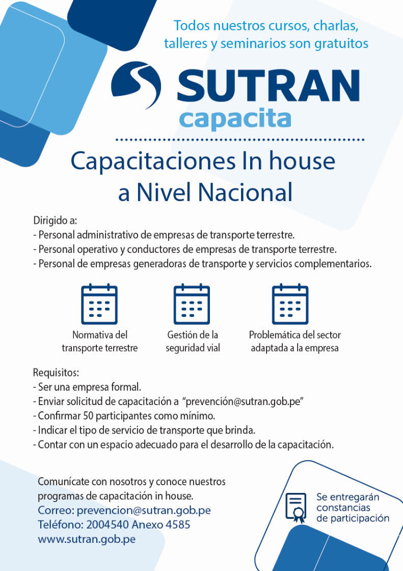 Capacitación In House