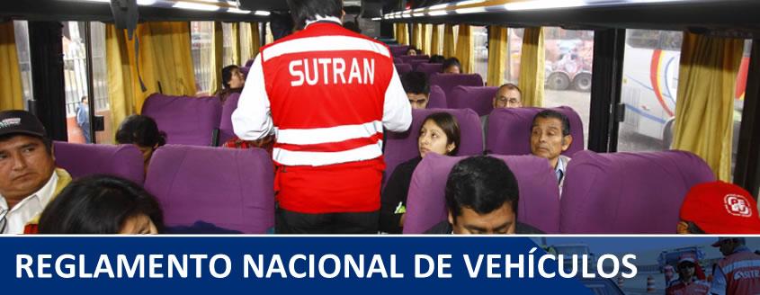 reglamento nacional de vehículos
