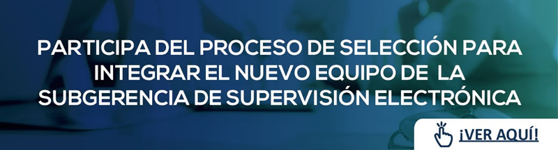 Contrataciones Subgerencia de Supervisión Electrónia